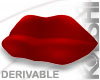 Luscious Lips Couch Red