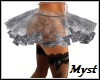 Silver Layerable Skirt