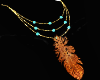 Western Feather Necklace
