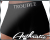 Trouble Black Boxers