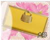 IRIS YELLOW PURSE