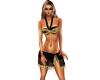 Black/Gold Bikini