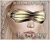 [Is] 24K Gold Blindfold