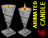 !@ Animated candle on-of
