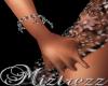 !Miz BlackRose BraceletR