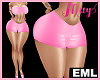 EML Bimbo Short Latex