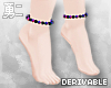 Y' Drv. Bead Anklets