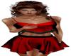 crimson bohemia skirtset