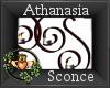 ~QI~ Athanasia Sconce