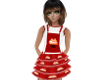 Red Cupcake Jumper- kids