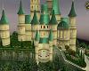 Fairy tale castle dusk