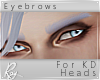 Lavender Fate Eyebrows