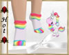 ~H~Unicorn Socks