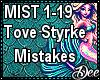 Tove Styrke: Mistakes