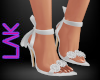 Tatiana heels white