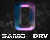 O Letter Colored Drv
