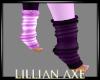 Bipolar purple socks