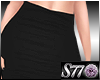 [S77]Black Pencil Skirt