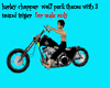 harley chopper  male
