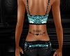 Diva Lower Back Tatt