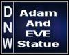 Adam & Eve Statue