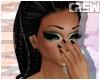 !TC! Evie blk/bld braids
