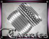 C Silver Bangles L