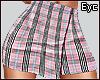 E. Pink Plaid Skirt RXL!