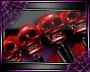 [D]SpikeSkullBand 2*R/Bk