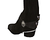Blk Harley boots