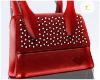 £. Red Studded Purse
