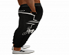 Black Cycling Pants