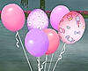 Animated Pink Balloons