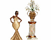 Gold Ivory Pearly Column
