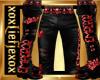 [L] EMPEROR Pants Red M