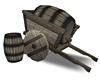 Faire Barrel Wagon