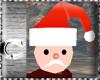 CcC Santa Claus toy head