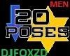 20 GREAT POSES (men)
