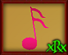 Music Note 2 Pink