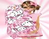 Blanky Pnk Kitty Ani/Tri