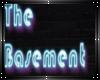Basement wall sign