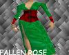 Long Corset Yule Gown