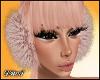 D- Fur Ear Muffs Fawn