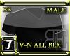 [BE] ALL BLK V-NECK