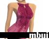 pink ruffle halter top