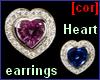 [cor] Rosemary earrings