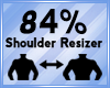 Shoulder Scaler 84%