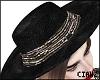 🌹 Sequin Hat Brown