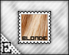 [E] Blonde Stamp
