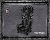 Skull Throne Black